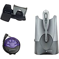 Plantronics CS50 Wireless Headset Bundle With Lifter And Busy Light (Certified Refurbished)