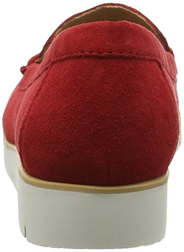 Red Femme Red Suede Portland Rouge Mocassins Gabor awHqpAIxq