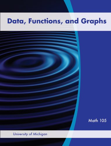 Data, Functions, and Graphs for University of Michigan