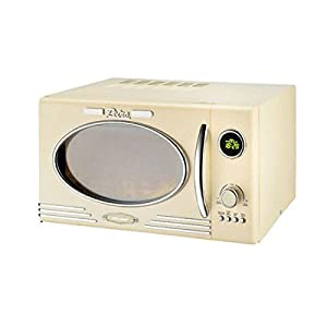Efbe Schott Retro Powerful Digital Microwave Oven And