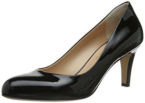 Geschlossen Schwarz Donna Evita Schwarz tacco col Nero Scarpe Shoes Pumps ZYxYEzaw