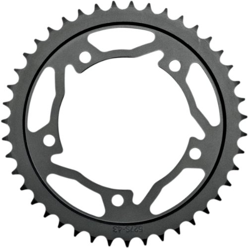 Vortex Rear Sprocket 44T 520 Steel Blk Hon CBR600RR CBR1000RR CBR929 CBR954 - Vortex Rear Sprocket