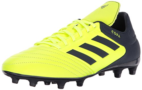 adidas Men's Copa 17.3 FG Soccer Shoe, Solar Yellow/Legend Ink/Legend Ink, 13 Medium US