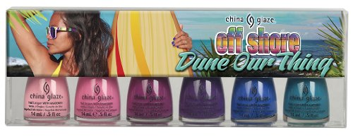 China Glaze Summer 2014 Off Shore Dune Our Thing Collection 6 colors