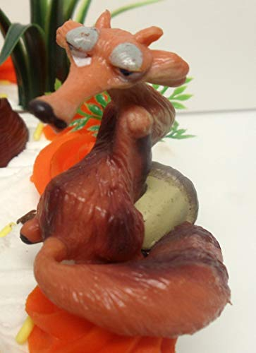 Ice Age 22 Piece Birthday Cake Topper Featuring Crash