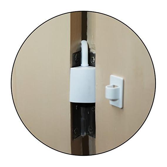 Safe-O-Kid - Pack of 2 - Effective Finger Guard for Hinged Doors