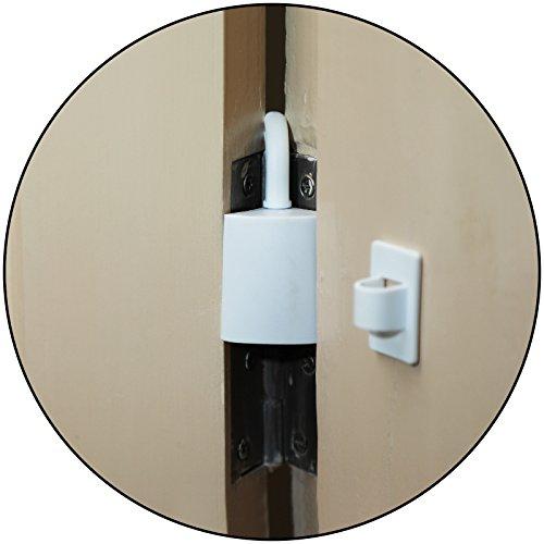 Safe-O-Kid – Pack of 4 – Effective Finger Guard for Hinged Doors