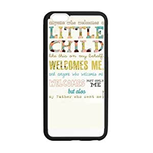 Bible Verses Design TPU Snap On Back Case For iphone 6 4.7 inch, Cellphone accessories