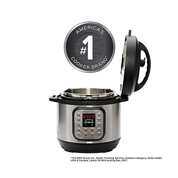 Instant Pot Duo Mini 3 Qt 7-in-1 Multi- Use Programmable Pressure Cooker, Slow Cooker, Rice Cooker, Steamer, Saute… 2