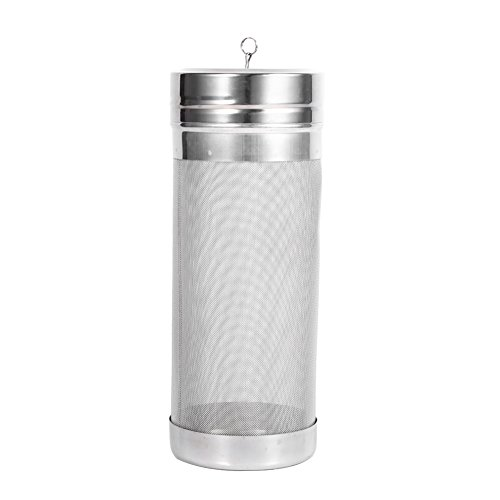 Beer Dry Hopper Filter,304 Stainless Steel Hopper Spider Strainer 300 Micron Mesh Tea Kettle Brew Filter by Fdit (Image #9)