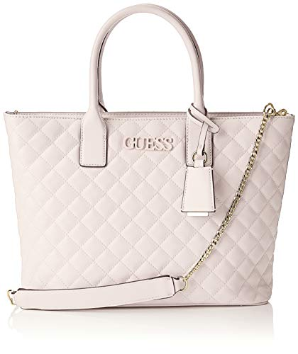 Guess Elliana Tote, Women's Top-Handle Bag, Black (Blush), 43x27x12 cm (W x H L)