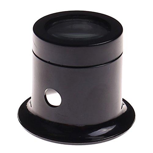 Ioffersuper 1 Pcs 10X Black Jewelers Loupe Magnifier Magnifying Eye Loop by Ioffersuper (Image #1)