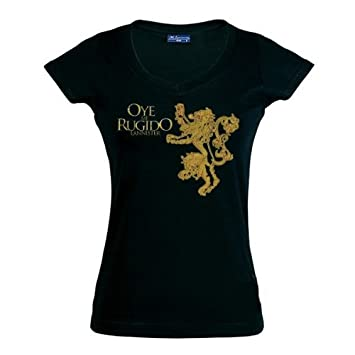 "Camiseta Juego de tronos Casa Lannister ""Chica"" (Talla: L Chica manga"