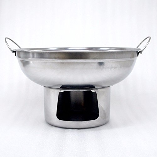 22 cm. HOT POT STAINLESS STEEL WARE SERVING BOWL OF TOMYUM Thai Soup, OTHER SOUP by areerataeyshop