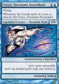 Magic: the Gathering - Erayo, Soratami Ascendant - Saviors of Kamigawa - Foil - Soratami Foil