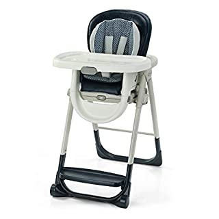 Graco EveryStep 7 in 1 High Chair   Converts to Step Stool for Kids, Dining Booster Seat, and More, Leyton