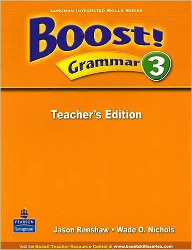 Scarica il formato ebook exe Boost! Grammar: Teacher's Book Level 3 PDF