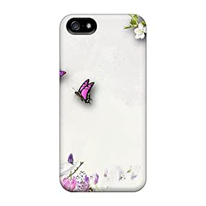 Fashionable Iphone 5/5s Case Cover For Floral Ambition Protective Case by Maris's Diary