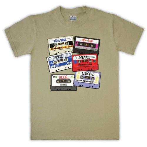 Retro Mix casetón libres de cinta para hombre T-Shirt Arena