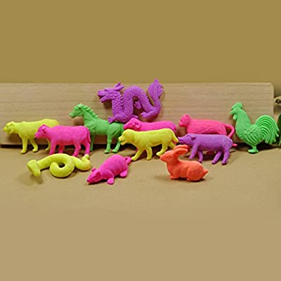 C-Pioneer 20pcs Grow in Water Animals Growing Sea Creatures: Toys & Games