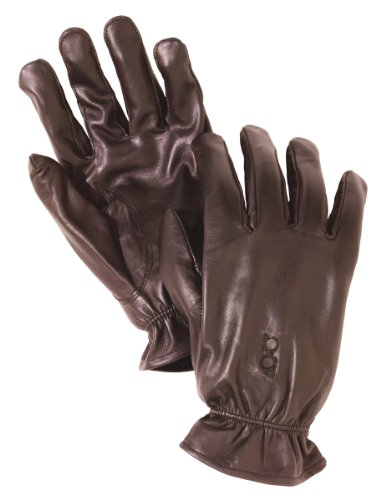 Bob Allen Leather Unlined Gloves (Brown, Large)