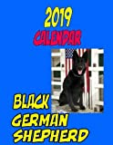 2019 Calendar Black German Shepherd: Personal Contacts, password log, notes, to do list, and more