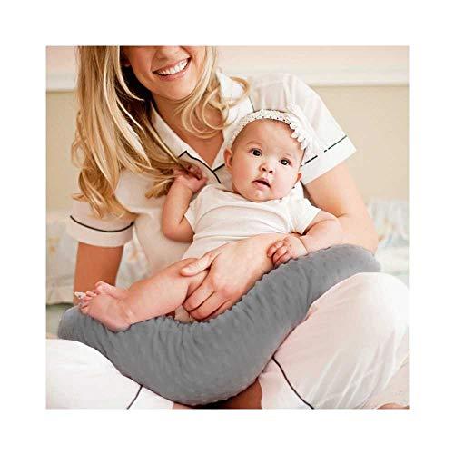 TIANNUOFA Minky Nursing Cover   Nursing Pillow Cover   Plush Breastfeeding Pillow Slipcover   Soft Fabric Fits Snug On Infant