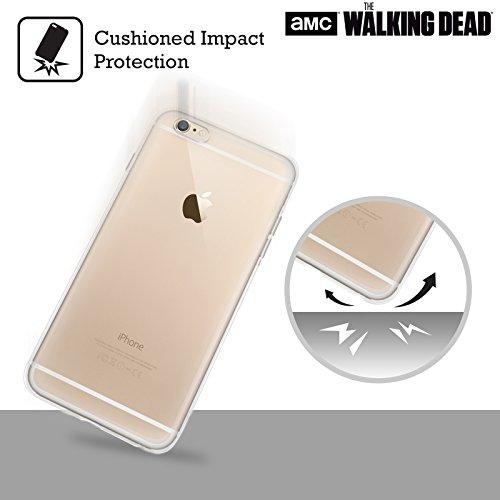 Officiel AMC The Walking Dead Eeny Miney BW Negan Étui Coque en Gel molle pour Apple iPhone 6 / 6s