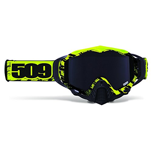 509 Mx 5 Neon Voltage with Smoked Lens Plus Free Clear Lens Premium Mx ATV Off Road