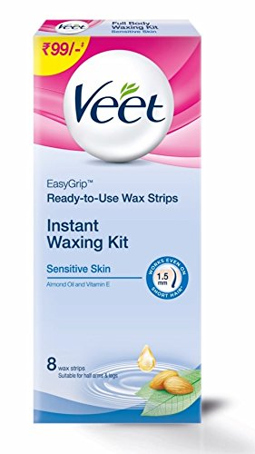 Veet full body waxing kit for sensitive skin 8 strips amazon veet full body waxing kit for sensitive skin 8 strips solutioingenieria Gallery