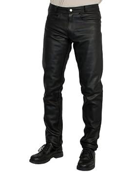 Roleff Racewear Pantaloni in Pelle Nero 62