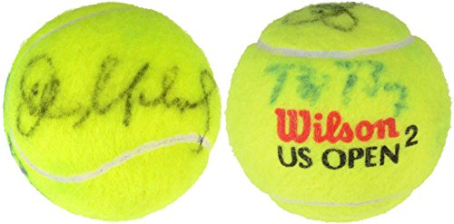 Ball Bjorn Borg Tennis - Bjorn Borg, John McEnroe Dual Signed Wilson US Open Tennis Ball - Fanatics Authentic Certified - Autographed Tennis Balls
