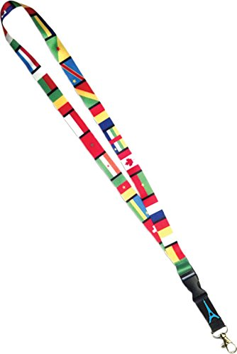 Carlex French Flags Lanyard (Pack of 30)