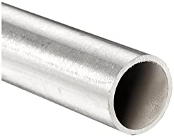 """Stainless Steel 316L Seamless Round Tubing, 1/8"""" OD, 0.085"""" ID, 0.020"""" Wall, 12"""" Length"""