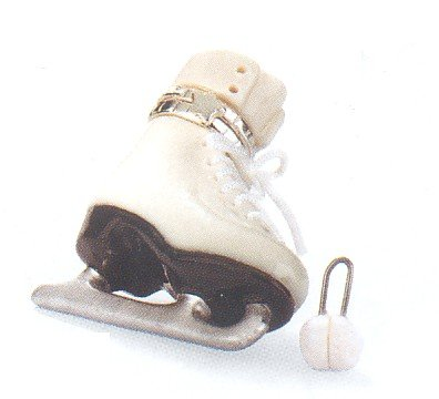 Ladies Figure Skate - Porcelain Hinged Boxs PHB Midwest of Cannon falls ()