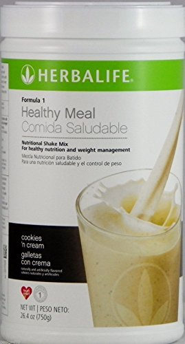 Formula 1 Healthy Meal Nutritional Shake Mix Cookies 'N Cream 750g Help Support Metabolism Weight Management, Cellular Growth Repair and Production. by Siamproviding