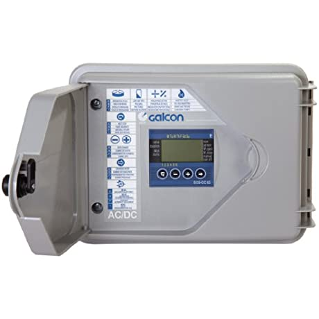 Galcon 6256S DC 6S 6 Station Indoor Or Outdoor Wall Mounted Battery Operated Irrigation And Propagation Controller
