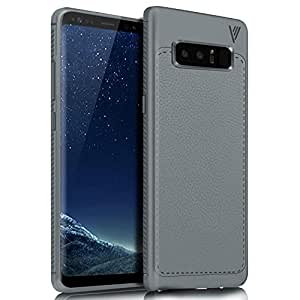 Samsung Galaxy Note 8 Case, Shock Absorption Protection Soft TPU Case Cover for Samsung Galaxy Note 8, Grey