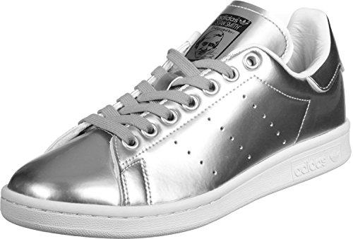Adidas Stan Smith W Chaussures pour femme Argenté, STAN SMITH W, argent métallique, 42 2/3