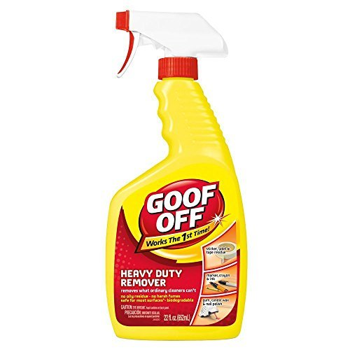 Goof Off FG644 Heavy Duty Remover, Trigger Spray, 22-Ounce ...