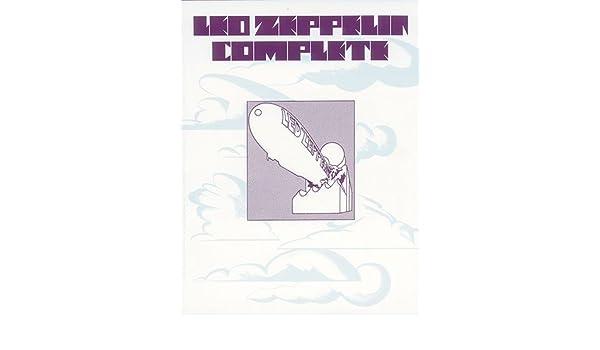 Led Zeppelin Complete (PVG). Partituras para Piano, Voz y Guitarra ...