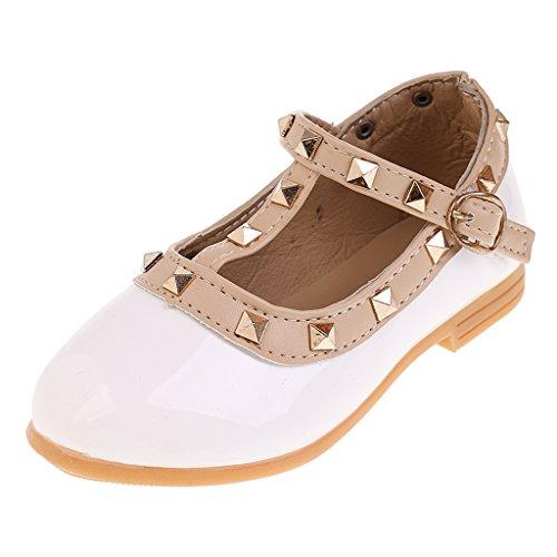 MagiDeal Par de Zapatos de Ballet Duradero Suela Antideslizante para Niñas - 30