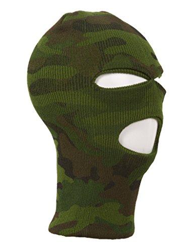 TopHeadwear 3-Hole Ski Face Mask Balaclava, Camouflage Camouflage Balaclava