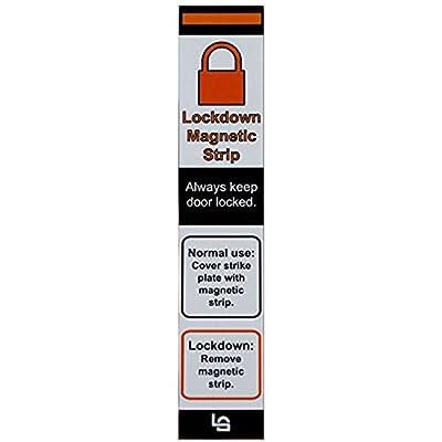 Lockdown Magnetic Strips for School Lockdowns - Simple Method to Lock Doors Quickly