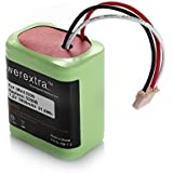 Powerextra High Capacity 7.2V 3000mAh Ni-MH iRobot Mint 5200 Vacuum Cleaner Replacement Battery For iRobot Braava 380, 380T, Mint 5200, 5200B, 5200C Floor Mopping Robots