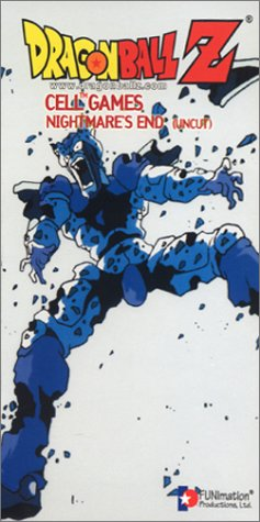 Dragon Ball Z: Cell Games - Nightmare's [VHS]