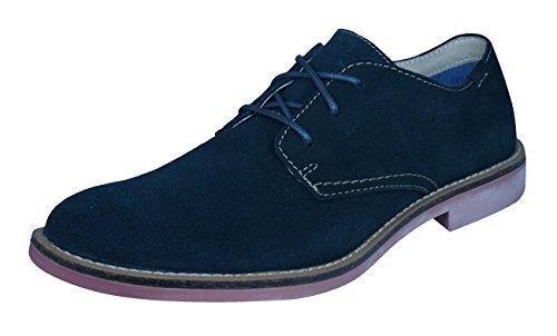 Marchio Nason Skechers Uomo Coley Oxford Navy Suede