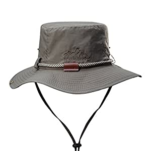 Fishing Hat Sun Hats for Unisex Outdoor Hunting Hat (Army Green)