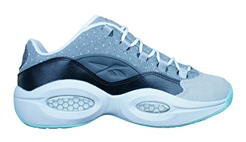 42133b4ac57e Reebok Question Low R13 Mens Basketball Sneakers   Shoes-Black-9.5 ...