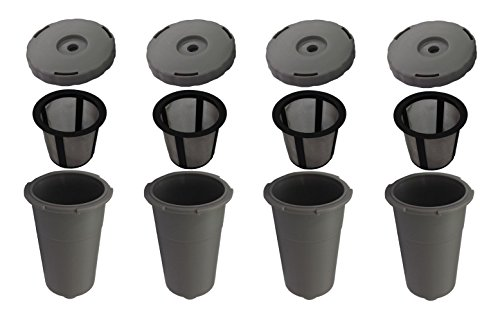 K-Cup Reusable Coffee Filter Refillable Holder for Keurig (4)
